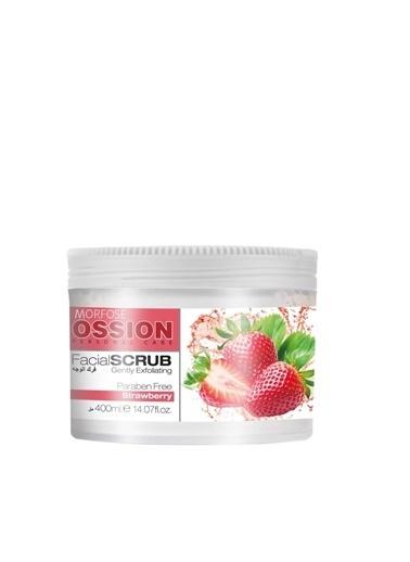 Morfose Morfose Ossion Facial Scrub Strawberry Çilek Özlü 400 ml Renksiz